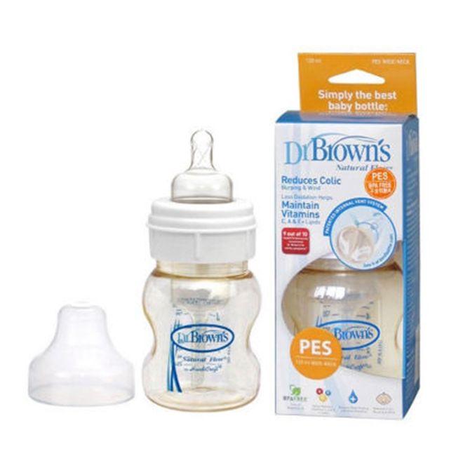 Bình sữa Dr.brows cổ rộng 120ml nhựa PES - 2426511 , 4330195 , 322_4330195 , 325000 , Binh-sua-Dr.brows-co-rong-120ml-nhua-PES-322_4330195 , shopee.vn , Bình sữa Dr.brows cổ rộng 120ml nhựa PES