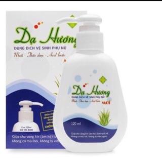 Dung dịch vệ sinh phụ nữ Dạ Hương - 120ml, có vòi xịt thumbnail