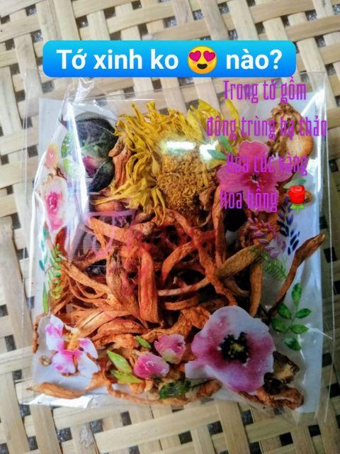 sét đặc biệt chè dưỡng nhan 6 người ăn(keto hoặc ko keto)