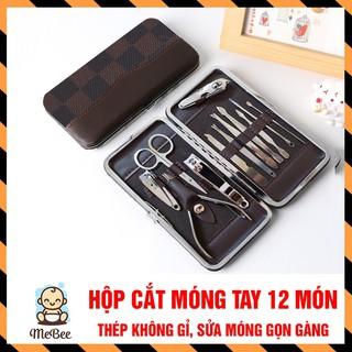 Cắt móng tay người lớn, hộp dụng cụ cắt móng tay 12 chi tiết thumbnail