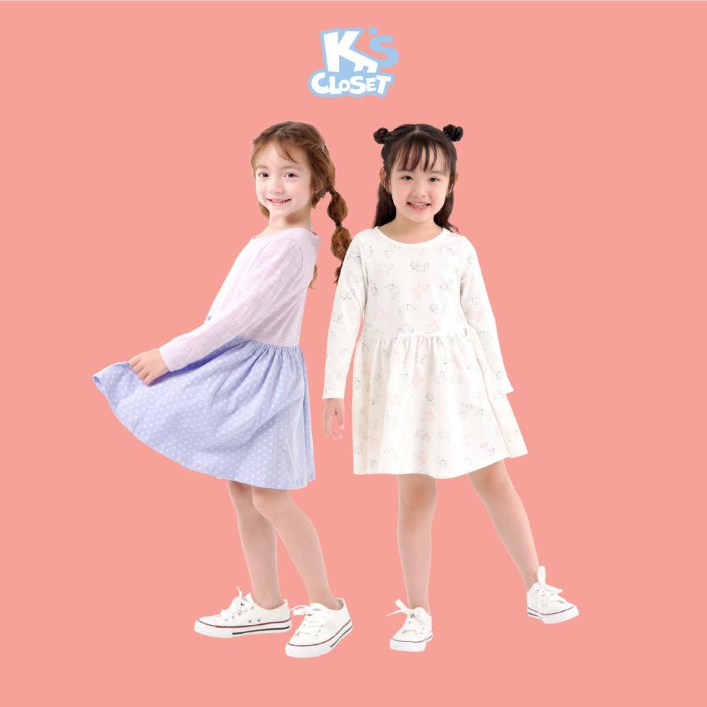 Váy Dài Tay Bé Gái (1-9 Tuổi) K's Closet E038TEF / E039TEF TM