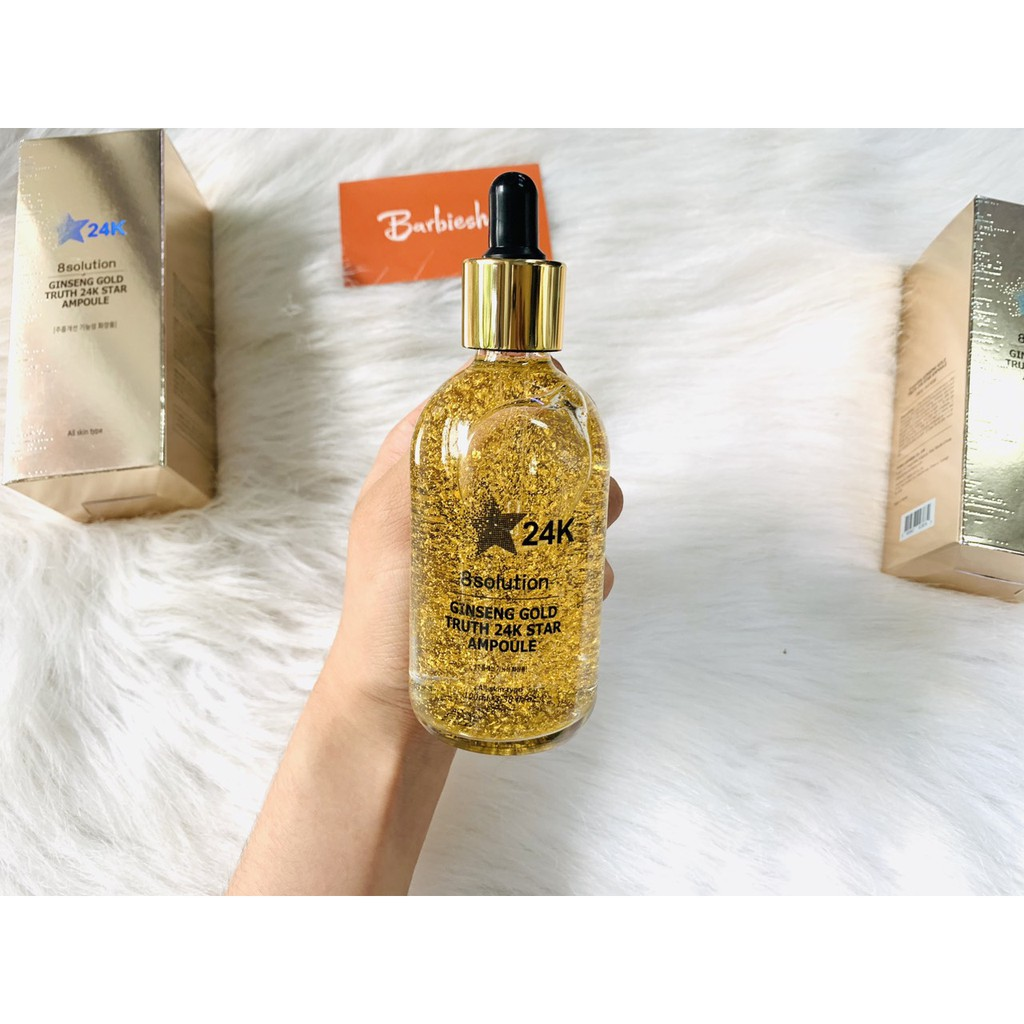 Tinh chất vàng gíneng gold truth 24k star ampoule 100ml - 21753312 , 2365371279 , 322_2365371279 , 650000 , Tinh-chat-vang-gineng-gold-truth-24k-star-ampoule-100ml-322_2365371279 , shopee.vn , Tinh chất vàng gíneng gold truth 24k star ampoule 100ml