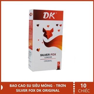 Bao Cao Su Siêu Mỏng Trơn DK SILVER FOX - hộp 10 chiếc thumbnail
