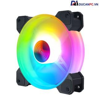 Quạt Tản Nhiệt, Fan Led RGB Coolmoon Y1 – Đồng Bộ Hub Coolmoon