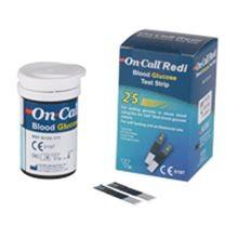 Que thử đường huyết ON-CALL Redi (25 que/lọ)