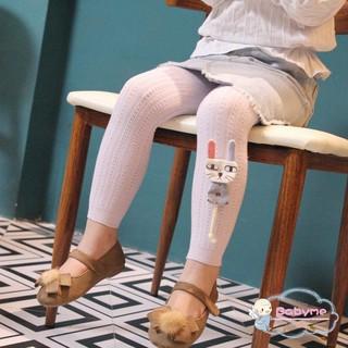 Quần legging chất liệu cotton co giãn tốt thời trang cho bé gái