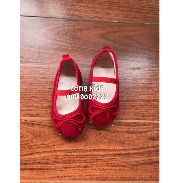 Giày Búp Bê Bé Gái Nơ Đỏ H&M - 3097511 , 806018739 , 322_806018739 , 175000 , Giay-Bup-Be-Be-Gai-No-Do-HM-322_806018739 , shopee.vn , Giày Búp Bê Bé Gái Nơ Đỏ H&M