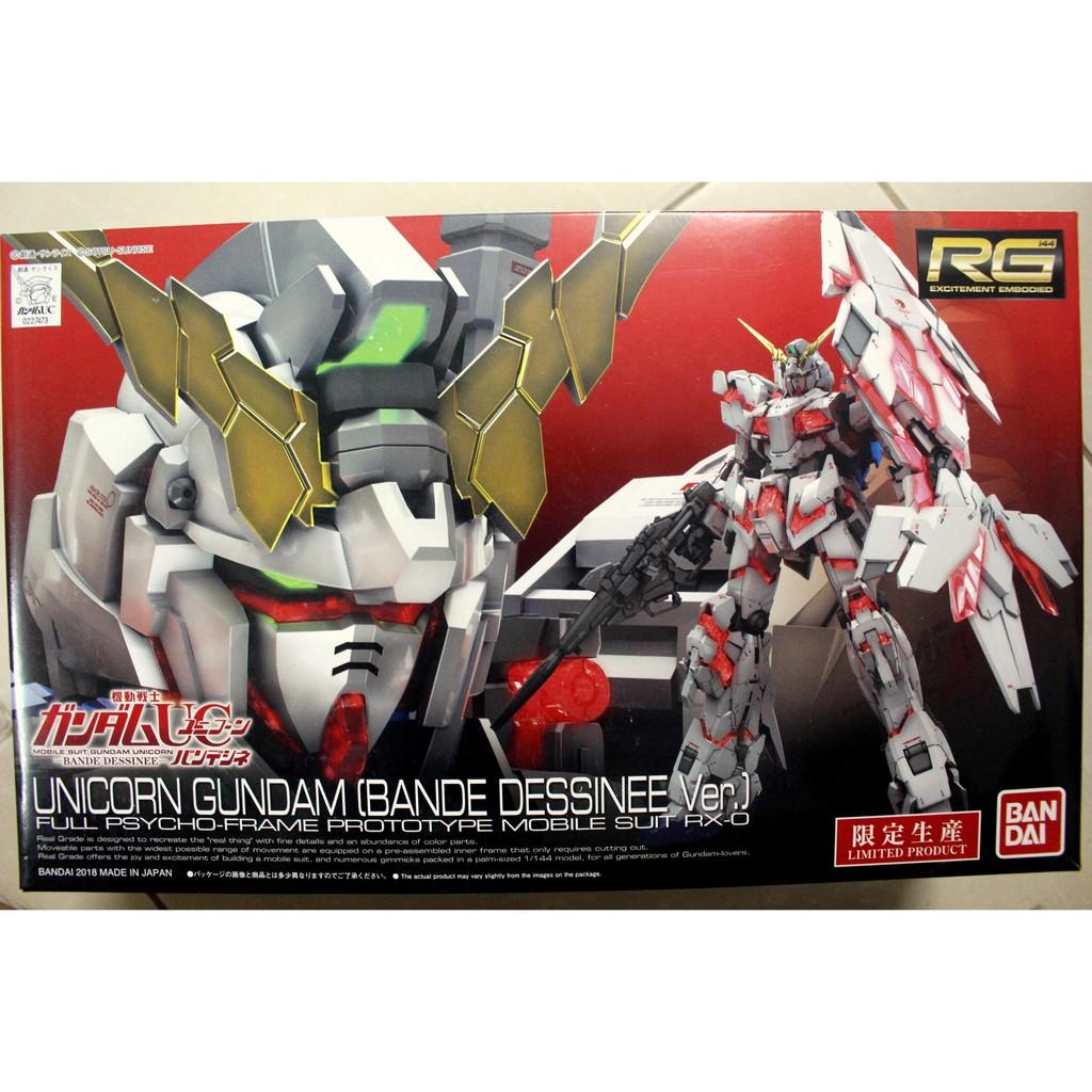 Mô hình lắp ráp RG 1/144 Gundam Unicorn Bandit ver - 9941910 , 1027087770 , 322_1027087770 , 840000 , Mo-hinh-lap-rap-RG-1-144-Gundam-Unicorn-Bandit-ver-322_1027087770 , shopee.vn , Mô hình lắp ráp RG 1/144 Gundam Unicorn Bandit ver