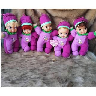 mua 4 tặng 1 Búp bê Disney Công chúa mùa đông Thân Gòn 25 cm