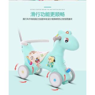 Ngựa kết hợp nhiều chức năng cho bé và mẹ