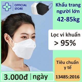 Khẩu trang y tế 3d mask 4 lớp KI STORE túi 6 cái, kháng bụi mịn lên đến 95% có thể tái sử dụng 2-3 thumbnail