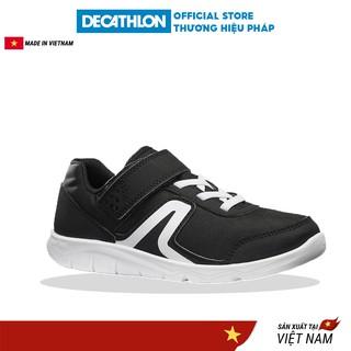 Giày đi bộ trẻ em NEWFEEL pw100 - đen trắng thumbnail