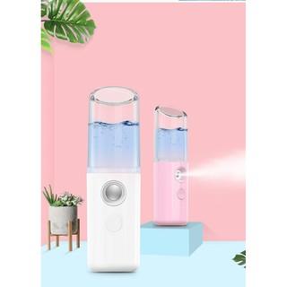 Máy phun sương tạo ẩm mini – Máy xông mặt mini cầm tay – Hỗ trợ dưỡng da cấp nước tối đa