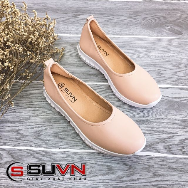 [DA THẬT 100%][Giá Sỉ] Giày bệt lười da thật 3cm VNXK