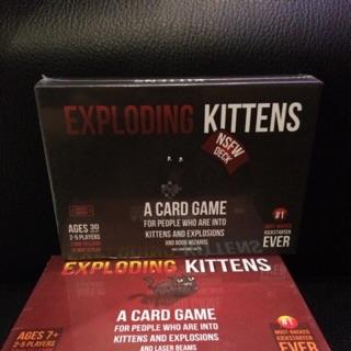 Mèo Nổ Exploding Kittens Tiếng Anh