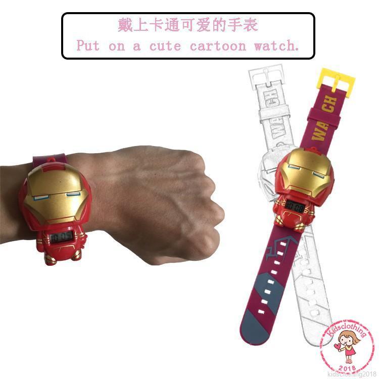 KIDS Đồng hồ điện tử đồ chơi cho bé