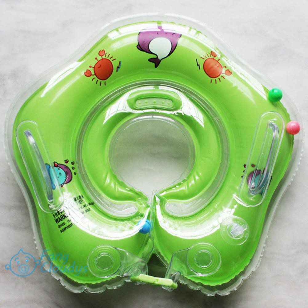 FANC★Inflatable Circle New Born Infant Adjustable Swimming Neck