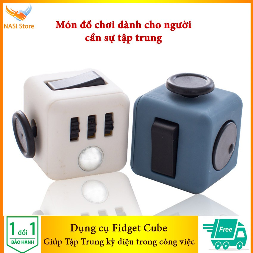 Dụng cụ Fidget Cube giúp tập trung kỳ diệu trong công việc, giảm căng thẳng, giảm stress