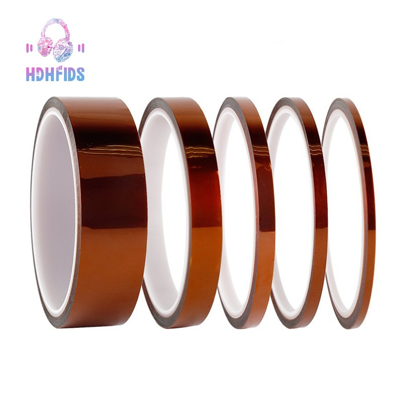 High Temp Tape,5 Pack Polyimide Value Bundle with Silicone Adhesive