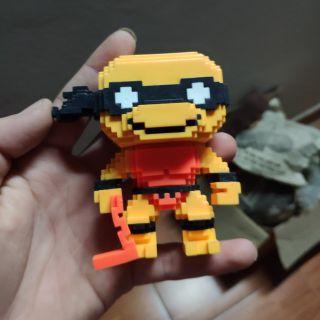 Funko ninja rùa 8bit