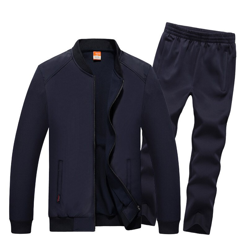 Wandergo Wholesale 2019 Fashion Spring Autumn Sporting Suit Men Set