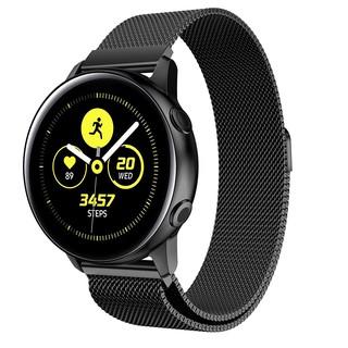 AMORUS Dây Đeo Milanese Cho Đồng Hồ Thông Minh Samsung Galaxy Watch Active Sm-r500 20mm Bằng Inox