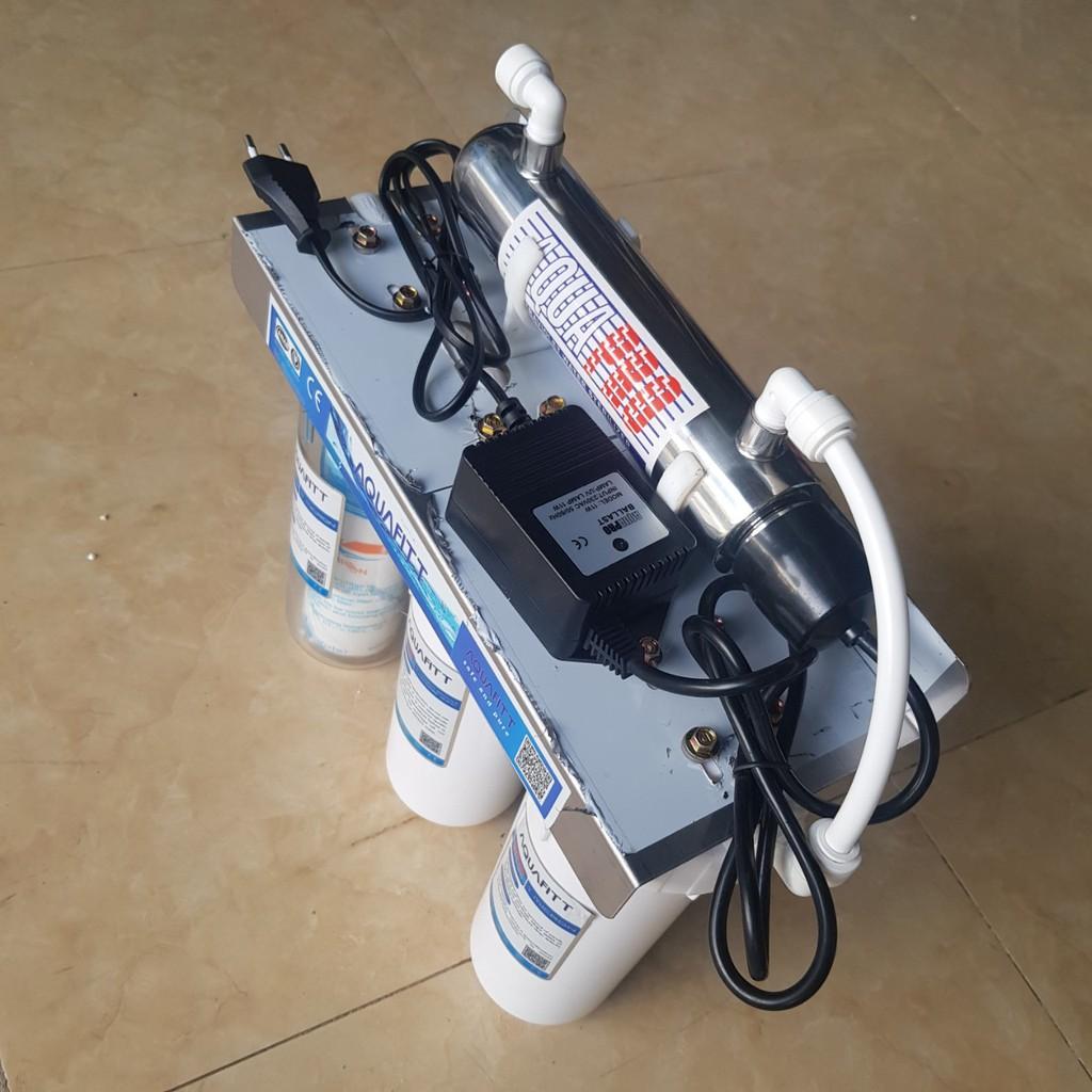Bộ lọc nước thô 10 inch kèm đèn UV diệt khuẩn