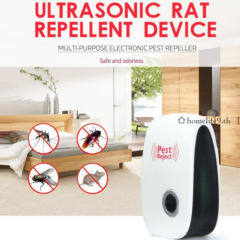 ☼Ultrasonic Electronic Indoor homelife9 Pest Bug NewControl Repeller Rat Mosquito Killer