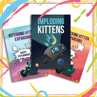 Combo mèo nổ 3 bản mở rộng – Exploding Kittens Expansion