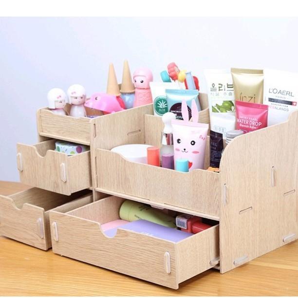 Tủ gỗ đựng đồ trang điểm cực xinh- Khách chọn màu
