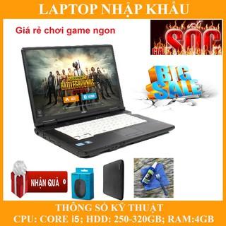 Laptop chơi game fifa 4, pubg mobile, Core i5, RAM 4G, 250gb thumbnail