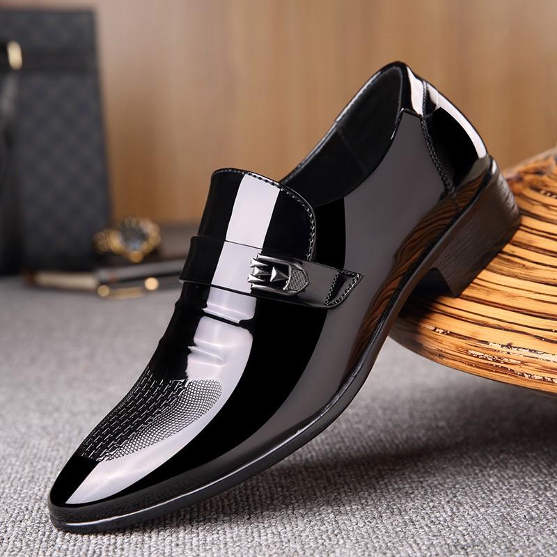 Giày da nam mũi nhọn phong cách doanh nhân