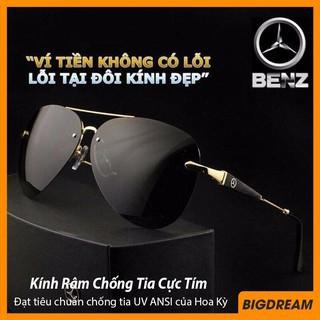 Mắt kính nam thời trang cao cấp chống nắng MER743 – Kính mát nam phân cực Mercedes Benz chống chói – Bảo hành 12 tháng