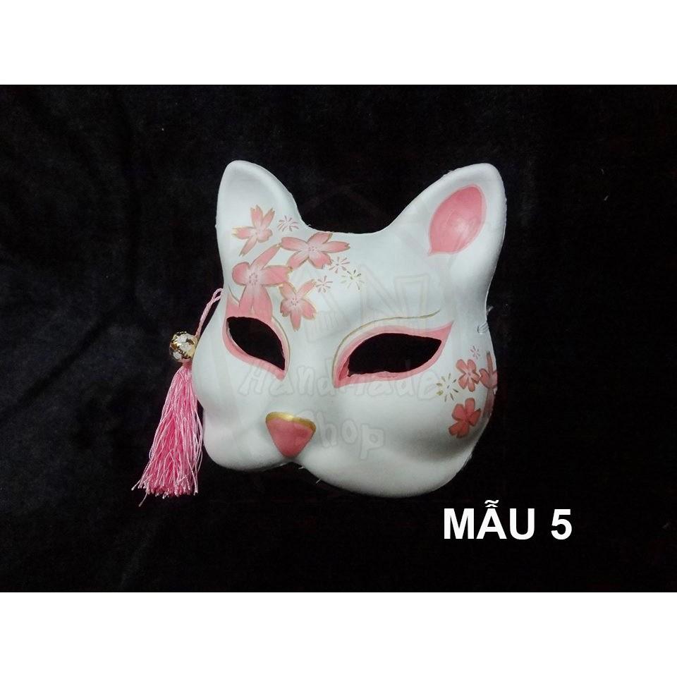 [ẢNH THẬT] Mặt nạ cáo đã vẽ cosplay , halloween shop vietvan02
