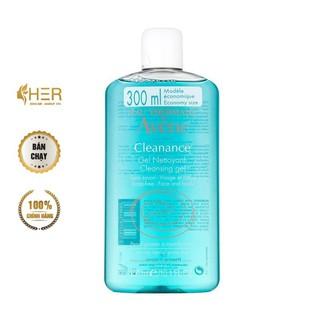 [Chính Hãng - 300ml] Sữa rửa mặt cho da dầu Avene