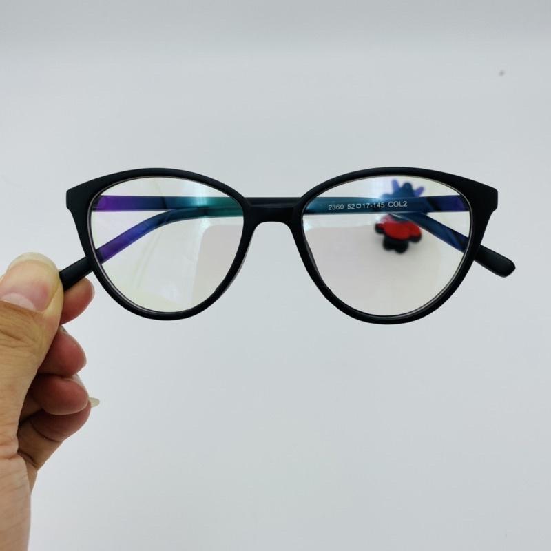 Gọng kính cận mắt mèo nữ nhiều màu 2360 Kính Mắt Elily