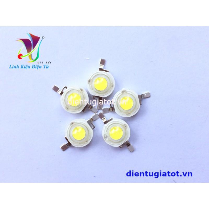 LED siêu sáng 3.5V 3W sáng trắng - 2517141 , 511214055 , 322_511214055 , 9000 , LED-sieu-sang-3.5V-3W-sang-trang-322_511214055 , shopee.vn , LED siêu sáng 3.5V 3W sáng trắng
