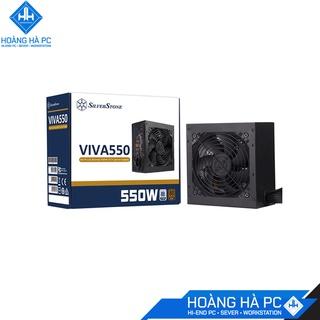 NGUỒN SILVERSTONE VIVA 550W 80 PLUS BRONZE, hàng chính hãng, giá tốt thumbnail