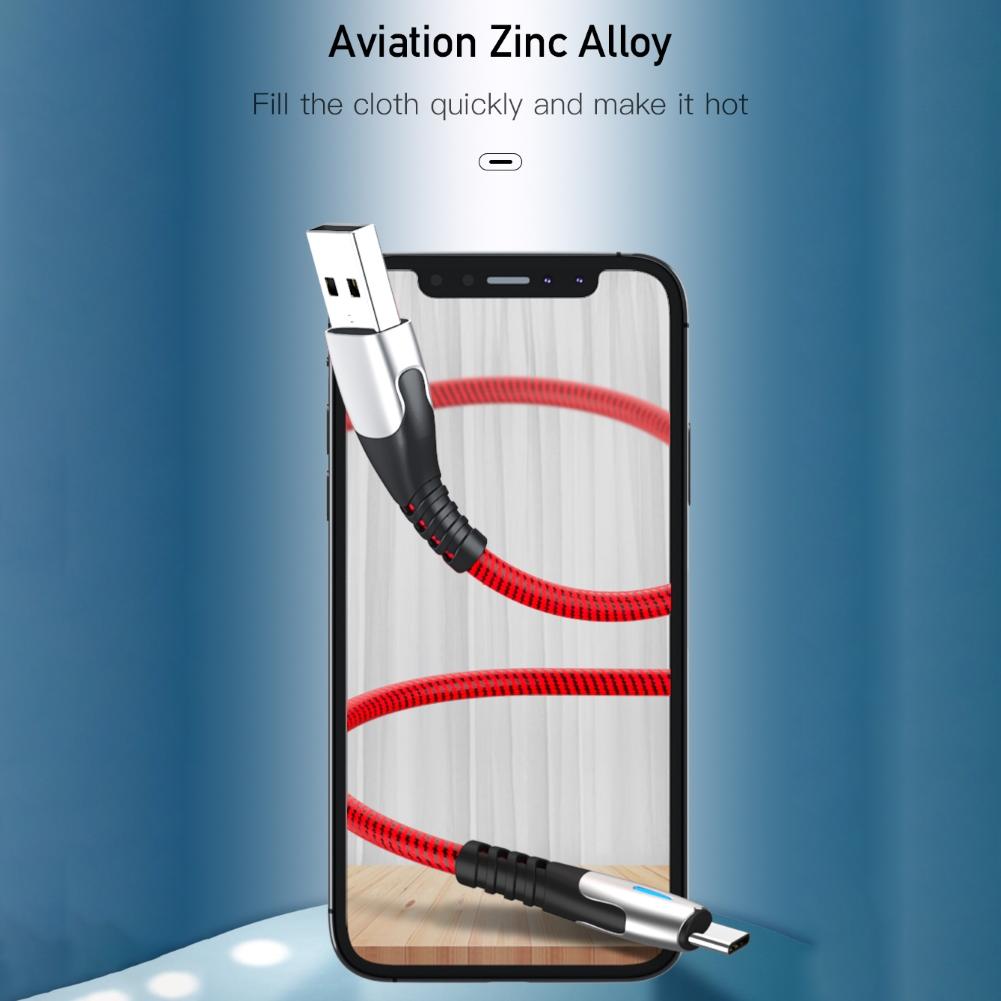 Dây Cáp Sạc Nhanh 5a Micro Usb Loại C Dành Cho Điện Thoại Android