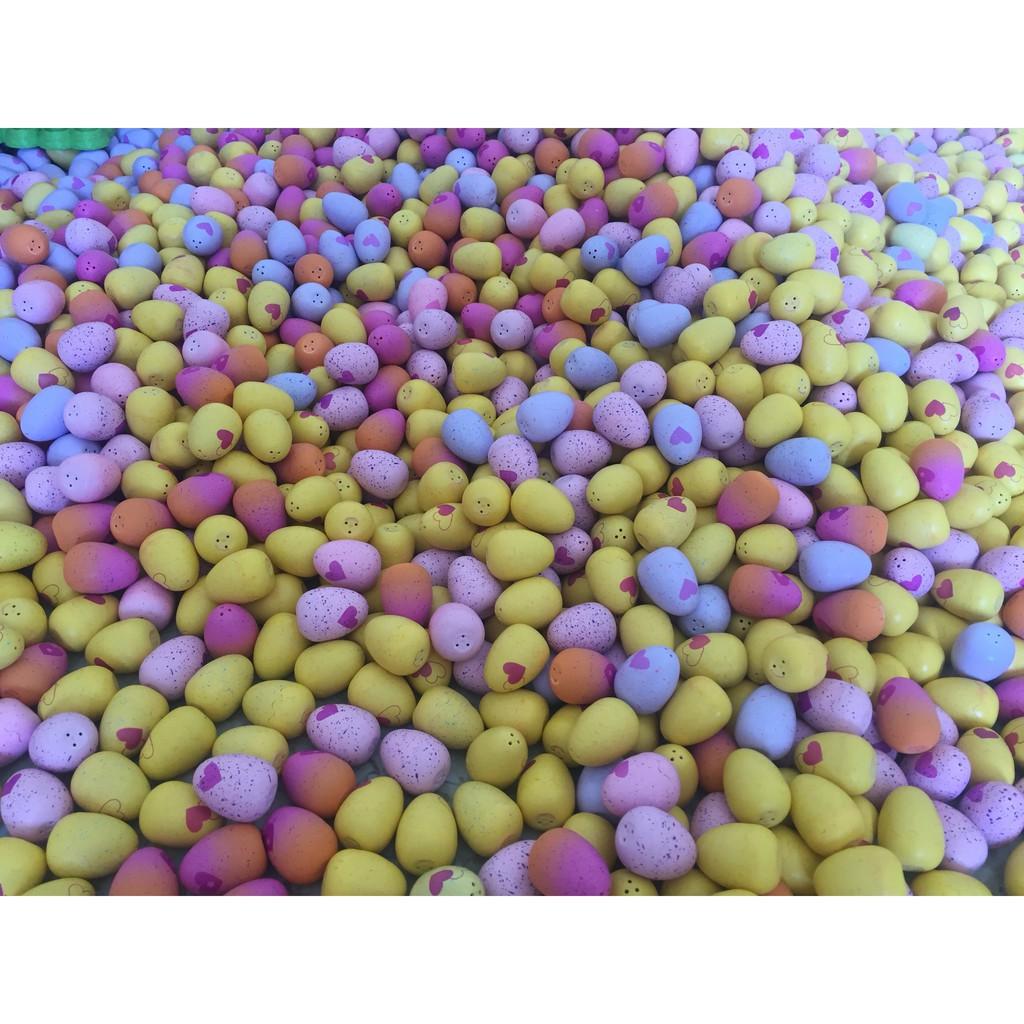 Combo 50 trứng Hatchimals không trùng mẫu thú bên trong trứng (gồm trứng màu tím - hồng - vàng - cam)