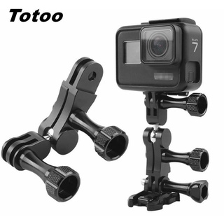 360° Universal Arm Aluminum Alloy Magic Hand Extension Adapter For GoPro Hero 8 7 6 5 9 Max 4K SJCAM Insta360 ONE R Accessories【oy】