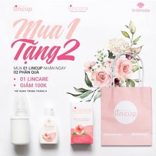 Cốc nguyệt san Lincup nhập khẩu chính hãng Lintimate