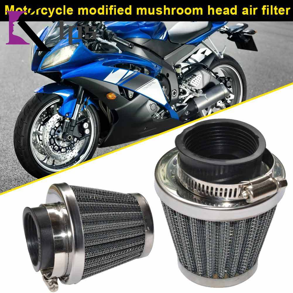 Motorcycle POD Air Filter Cleaner 35/39/42/44/48/50/52/54/60mm Filters for ATV Pit Dirt Bike