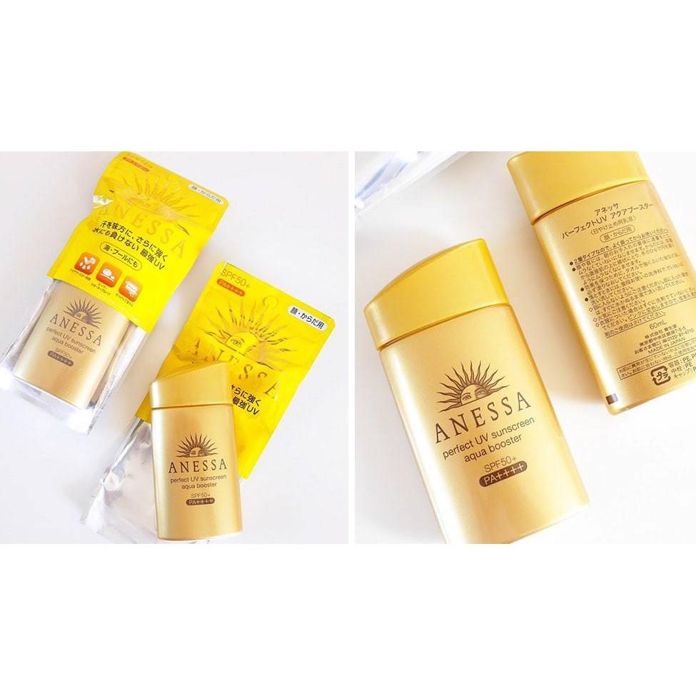 Kem chống nắng Anessa Shiseido (màu vàng)