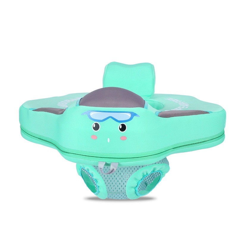 Phao bơi cao cấp Mambobaby kèm đệm ngồi cho bé 3-24 tháng