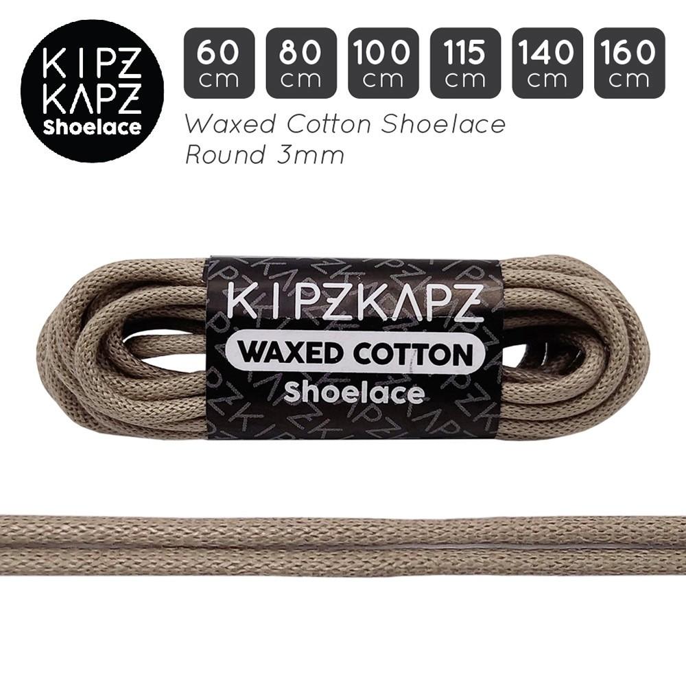 Dây Giày Kipzkapz Ws7 60cm 80cm 100cm 115cm 140cm 160cm - Wax / Waxed Round 3mm