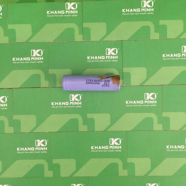 Cell pin Samsung ICR18650-28A/30A/30B cũ, tháo ra từ pin laptop chính hãng.