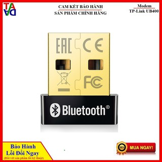 Thiết Bị Kết Nối Bluetooth 4.0 Qua Cổng USB TPLink UB400 – USB Bluetooth – Hàng Chính Hãng