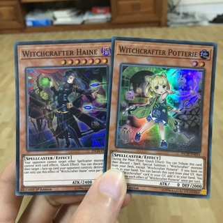 """Dòng quái thú mới """"Witchcrafter"""": Witchcrafter Haine và Witchcrafter Potterie"""