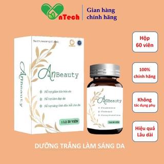 Viên uống trắng da Goldwings AnBeauty bổ sung nội tiết tố bổ sung collagen giúp dưỡng trắng làm sáng da hộp 30 viên thumbnail